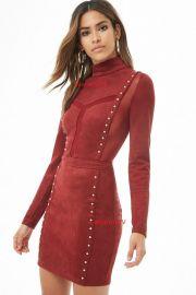 Studded Mini Dress at Forever 21