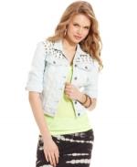 Studded denim jacket by Jessica Simpson at Macys