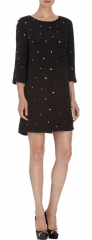 Studded dress by Saloni Marie at Barneys