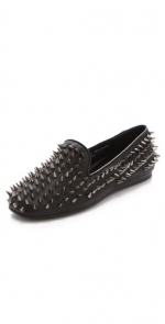 Studded hellraiser flat by UNIF at Shopbop