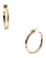 Studded hoop earrings at Cusp