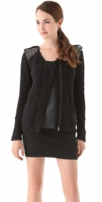 Studded jacket like Georginas at Shopbop