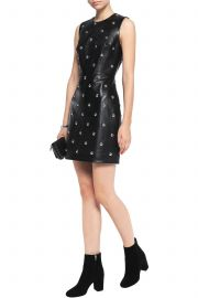 Studded leather mini dress by Alexander Wang at The Outnet