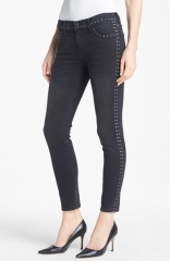 Studded skinny jeans by Current Elliot at Nordstrom