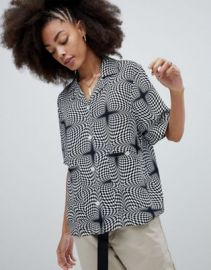 Stussy Oversized Shirt In Psychedelic Print   ASOS at Asos