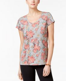 Style   Co Cotton Printed T-Shirt at Macys