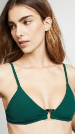 Suboo Jungalow Ring Front Bralette Bikini Top at Shopbop