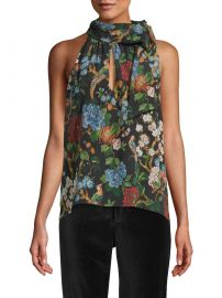 Sudie Floral Halter Top by Alice  Olivia at Gilt