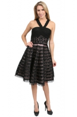 Sue Wong Lace Skirt Dress at Couture Candy