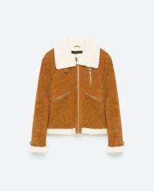 Suede Jacket at Zara