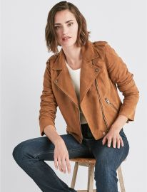 Suede Moto Jacket at Lucky Brand