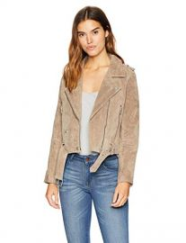Suede Moto Jacket by BlankNYC at Amazon