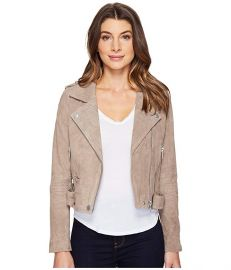 Suede Moto Jacket by BlankNYC at Zappos