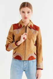 Suede Parrot Jacket at Urban Outfitters