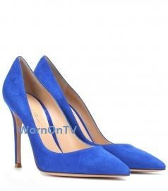 Suede Pumps by by Gianvito Rossi at Mytheresa