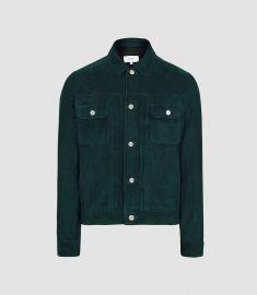 Suede Western Jacket at Reiss