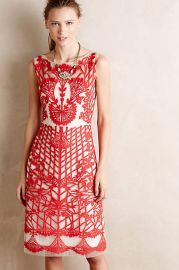 Sugared Ruby Sheath from Anthropologie at Anthropologie