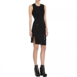 Suiting dress by Helmut Lang on HIMYM at Barneys