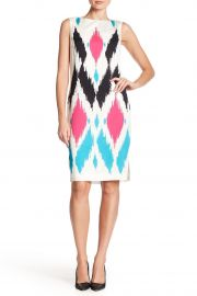 Sultana Ikat Print Stretch Dress at Nordstrom Rack