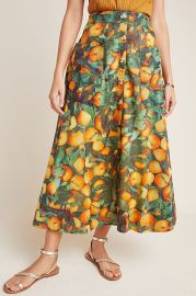 Summer Orchard Skirt by Maeve at Anthropologie