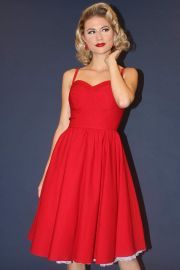 Summertime Swing Dress Red at Stop Staring