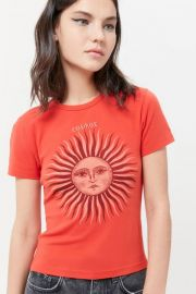 Sun Baby Tee by Urban Outfitters at Urban Outfitters
