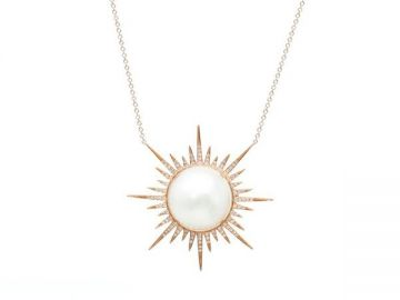 Sunburst Necklace by Samira 13 at Samira 13
