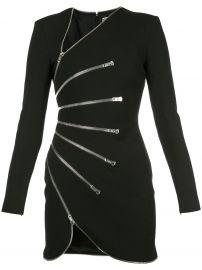 Sunburst Zip Dress at Farfetch