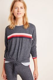 Sundry Shauna Striped Sweater at Anthropologie
