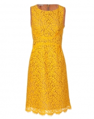 Sunflower lace dress by Michael Kors at Stylebop