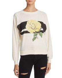 Sunny Rose Sweatshirt by WildFox at Bloomingdales