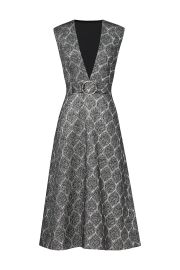 Suno silver screen dress at Rent the Runway