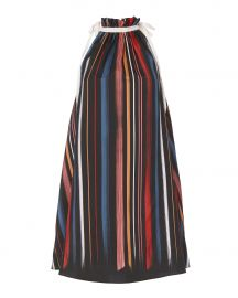 Sunset Striped Trapeze Dress at Intermix