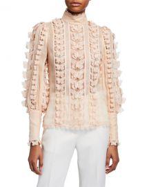 Super Eight Flutter Shirt by Zimmermann at Bergdorf Goodman