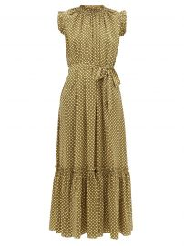 Super Eight Polka-Dot Midi Dress by Zimmermann at Matches
