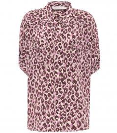Super Eight silk blouse at Mytheresa
