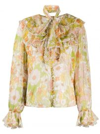 Super Eight silk blouse at Farfetch