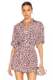 Super Eight silk blouse by Zimmermann at Forward