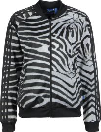 Supergirl Zebra Jacket at Adidas