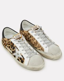 Superstar Leopard Low-Top Sneakers at Intermix