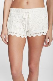 Surf Gypsy Crochet Cover-Up Shorts at Nordstrom