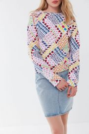 Susan Alexandra printed Sweatshirt by Champion at Urban Outfitters
