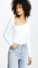 Susana Monaco Laurene Diagonal Neck Top at Shopbop