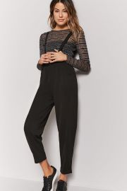 Suspender pants at Forever 21