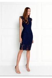 Suzette Lace Mini Dress at Rachel Zoe