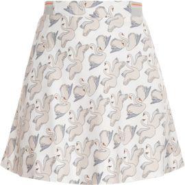 Swan print skirt at Paul & Joe