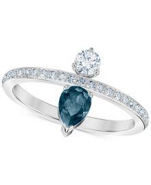 Swarovski Silver-Tone Crystal Ring    Reviews - Fashion Jewelry - Jewelry   Watches - Macy s at Macys