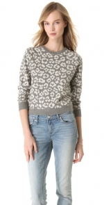 Sweater in the same print at Shopbop