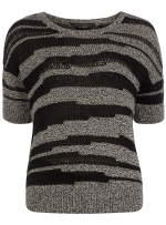 Sweater with a similar pattern at Dorothy Perkins