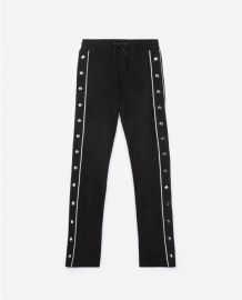 Sweatpants with side buttons at The Kooples
